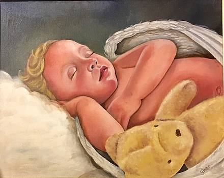 Sleeping Angel by Gwendolyn Frazier