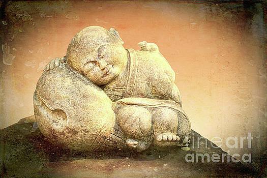 Sleeping Buddha by Lynn Bolt