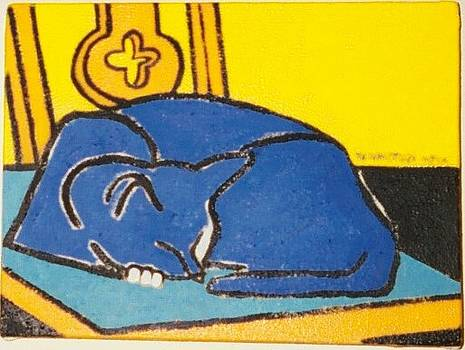 Sleeping Cat by Nicholas Martori