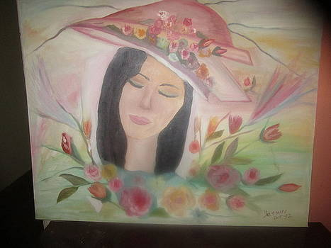 Sleeping Flower by Zeenath Diyanidh