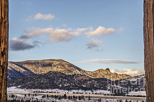 Sleeping Giant Framed by Sue Smith
