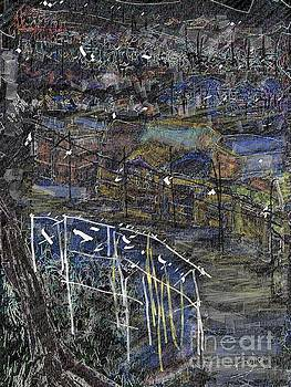 Sleeping hilltown by Subrata Bose