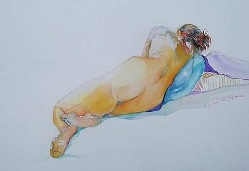 sleeping II by Lily  Azerad-Goldman