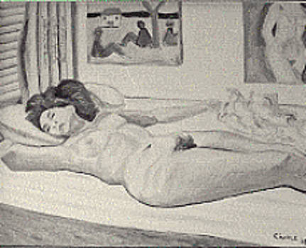 Sleeping model by Biagio Civale