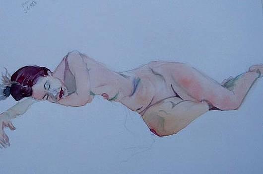 Sleeping model by Lily  Azerad-Goldman