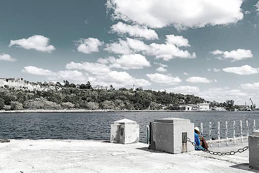 Sharon Popek - Sleeping on the Dock of the Bay