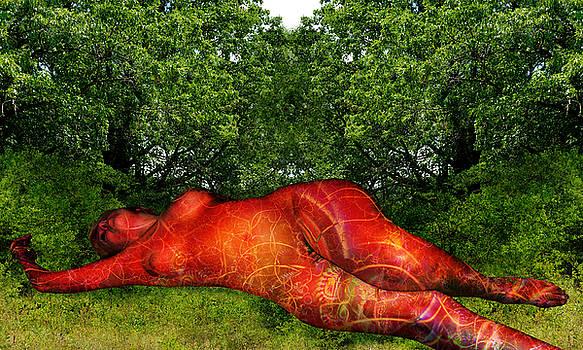 Sleeping Venus 0478b by Paul Pinzarrone
