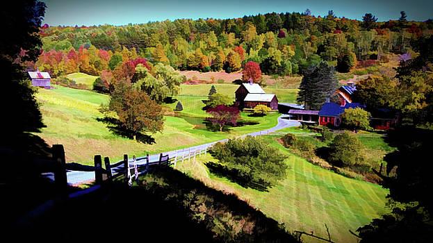 Sleepy Hallow Farm, Woodstock, Vermont by Joseph Hendrix