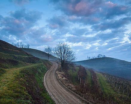 Sleepy hills by Davorin Mance