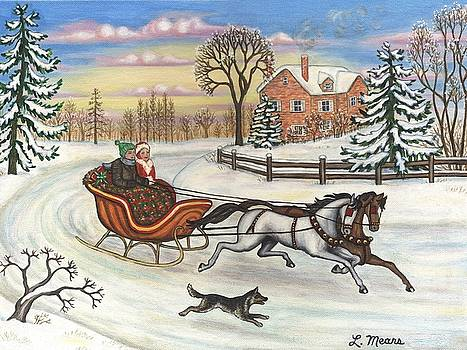 Linda Mears - Sleigh Ride in the Country