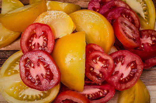 Sliced Tomatoes by Connor Koehler