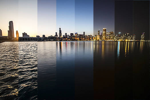 Slices of the Chicago Skyline by Sven Brogren