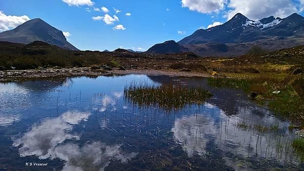 Sligachan, The Isle Of Skye by B Vesseur