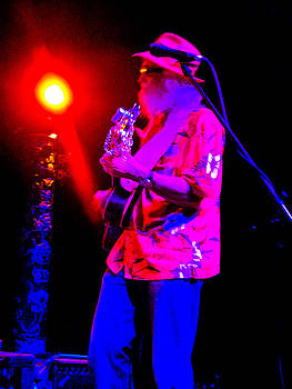 Slim and his Guitar by Barbara Kelley