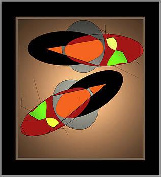 Slippers by Aline Pottier  Gama Duarte