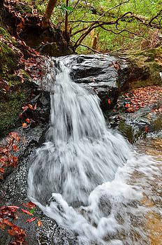 Slippery Rock Falls FDR State Park GA by Mountains to the Sea Photo