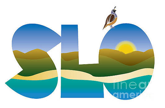 SLO morning by Shelley Myers