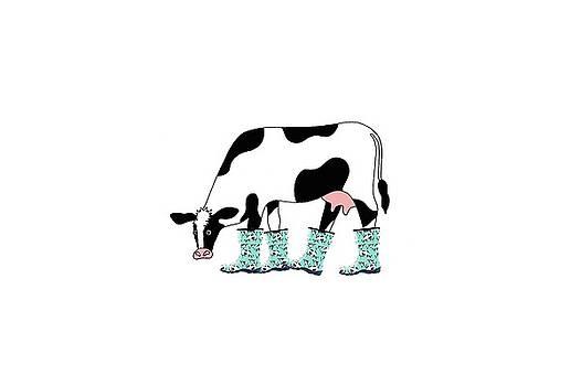Sloggers Cowabella Cow by Sarah Rosedahl