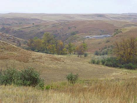 Slope County September Prairie by Cris Fulton