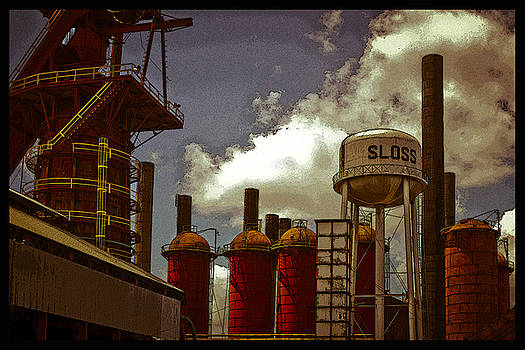 Sloss Furnace Poster by Just Birmingham
