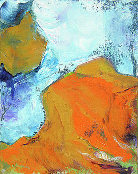 Slot Canyon 3 by Pam Van Londen