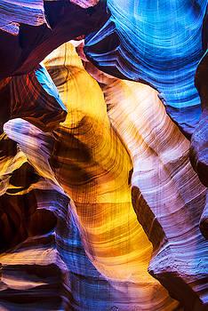 Pam  Elliott - Slot Canyon Colors
