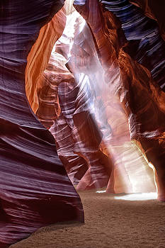 Wes and Dotty Weber - Slot Canyon Entry