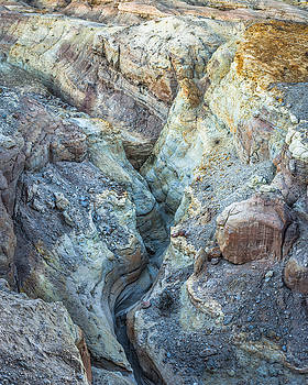 Slot Canyon - Top View by Alexander Kunz