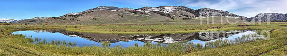 Adam Jewell - Slough Creek Reflection Panorama