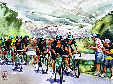 Slow and Steady Team Sky by Shirley Peters