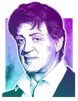 Sly Stallone by Greg Joens