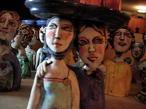 Sm Sculpture by Kathleen Raven