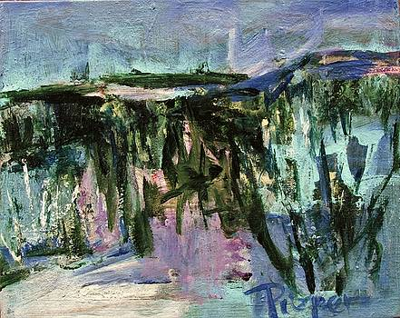 Betty Pieper - Small Abstract with Bright Blue