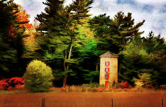 Small Autumn Silo by JGracey Stinson
