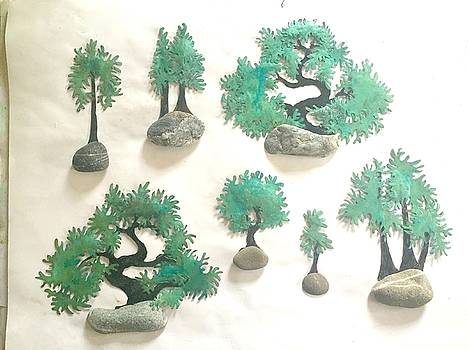 Small Bonsai Sculptures by Vanessa Williams