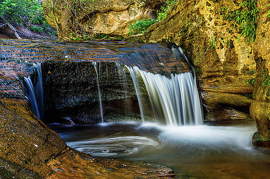 Small Cascade  by James Marvin Phelps