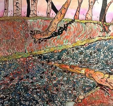 Small Creek Bed by Robert Hilger