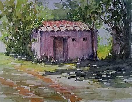 Small Ecuador House by Lou Baggett