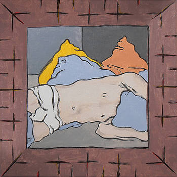 Stan  Magnan - Small Framed Bedscape One Thirty AM