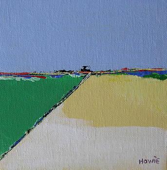 Small Green Landscape1 by Brooke Baxter Howie