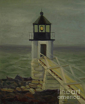 Small Lighthouse by Lilibeth Andre