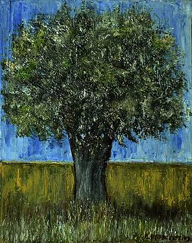Small Olive Tree 1 by Dimitra Papageorgiou