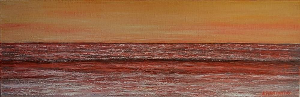 Small Seascape 2 by Dimitra Papageorgiou