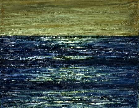Small Seascape 4 by Dimitra Papageorgiou