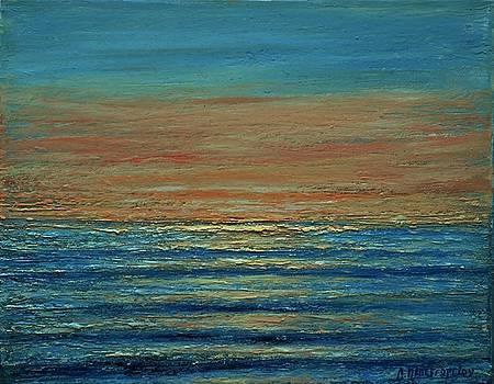 Small Seascape 5 by Dimitra Papageorgiou