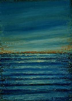 Small Seascape 7 by Dimitra Papageorgiou