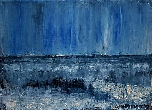 Small Seascape 9 by Dimitra Papageorgiou