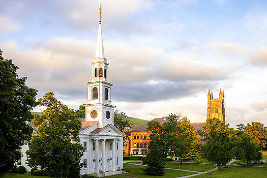 Small Town New England Skyline by Andrew Soundarajan