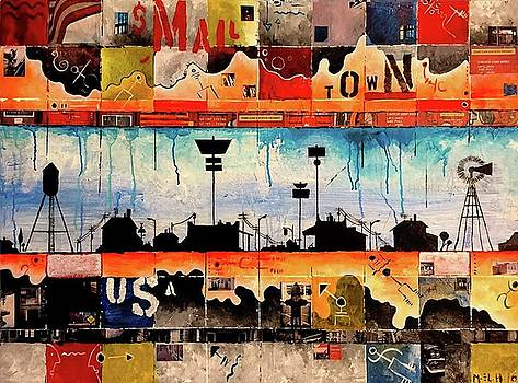Small Town USA by Marwen Hicheri