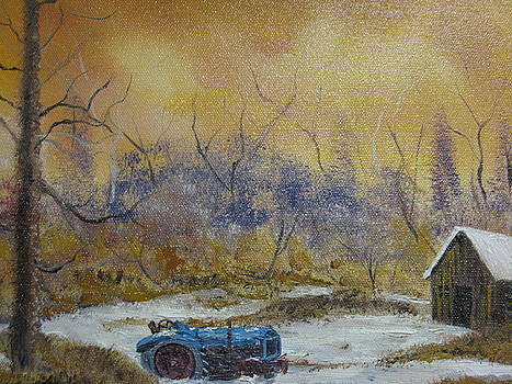 Small Tractor by Brian Hustead